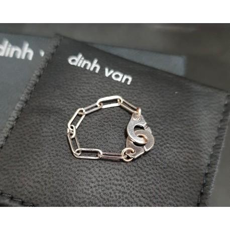Bague chaîne Menottes Dinh van R7
