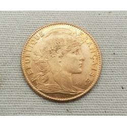 Pièce en or 10 francs