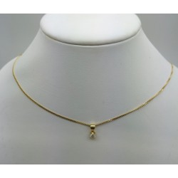 Collier diamant 0.35cts