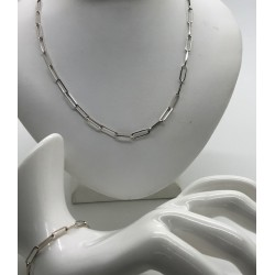 Parure Chaine + bracelet