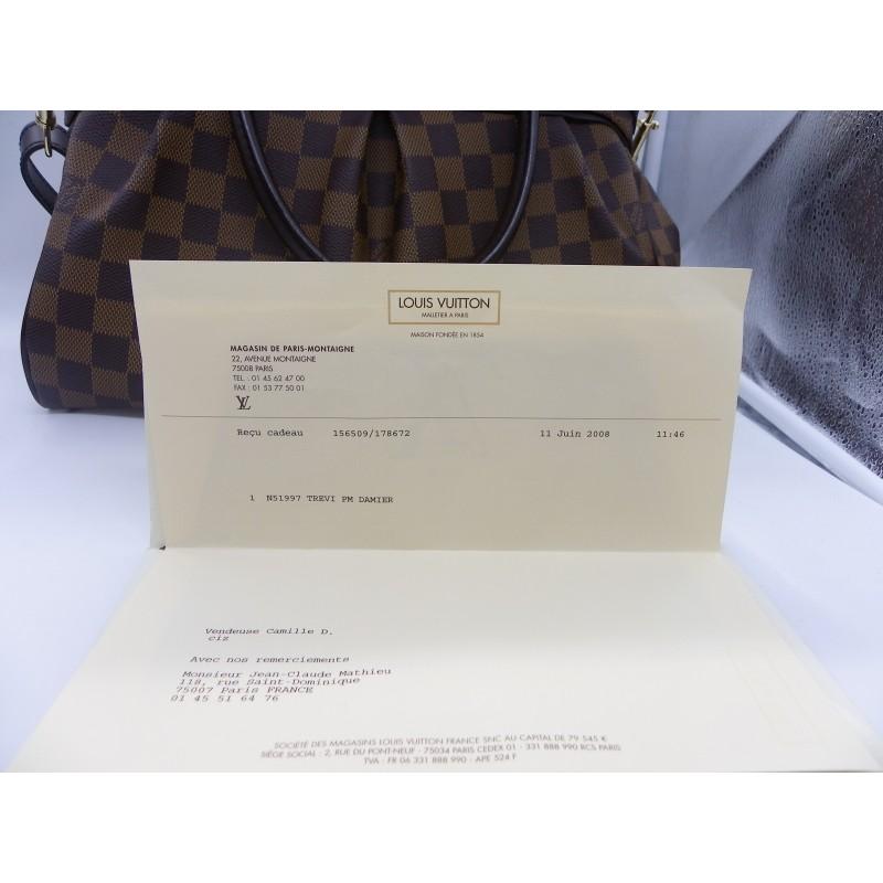 8cc84bb8ff Très beau sac TREVI PM DAMIER de la maison Louis Vuitton