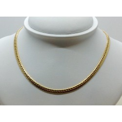 Collier Or Maille Anglaise