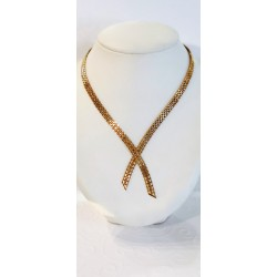 Collier Cravate en or jaune