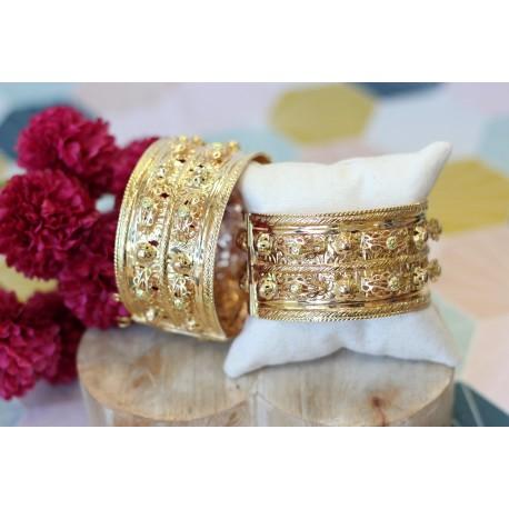 Bracelets rigides oriental or