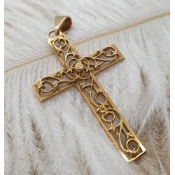 Pendentif Croix en Or