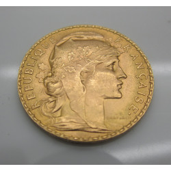 Pièce Or 20 Francs 1907