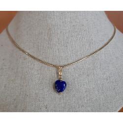 Chaine et Pendentif Lapis Lazuli