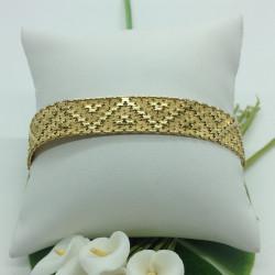 Bracelet Ruban en or