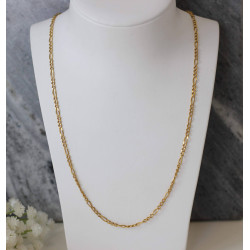 Chaine Or Jaune Maille Figaro