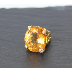 Bague Miss Dior Citrine