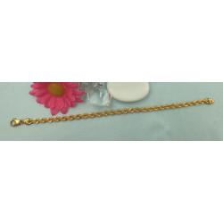 Bracelet Or Maille Corde