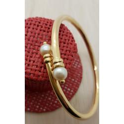 Bracelet Jonc avec Perles