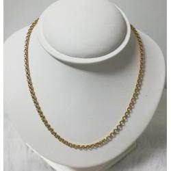 Chaine Or Maille Jaseron