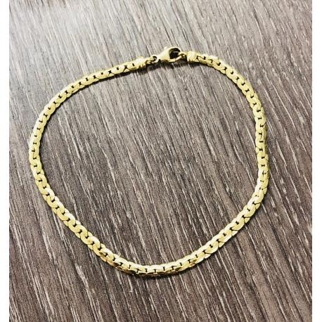 Bracelet Maille Haricot