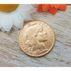 Pièce Or 20 Francs Marianne 1909