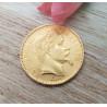 Pièce Or 20 Francs Napoléon III 1866