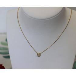 Collier Chaine + Pendentif diamant