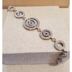 Bracelet Or Blanc et Diamants