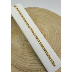Bracelet Or Maille Marine