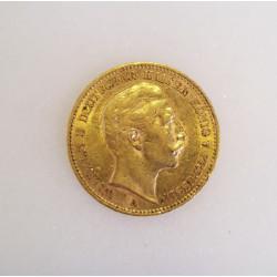 Pièce Wilhelm II 20 Mark 1902
