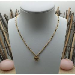 Chaine + Pendentif Coeur