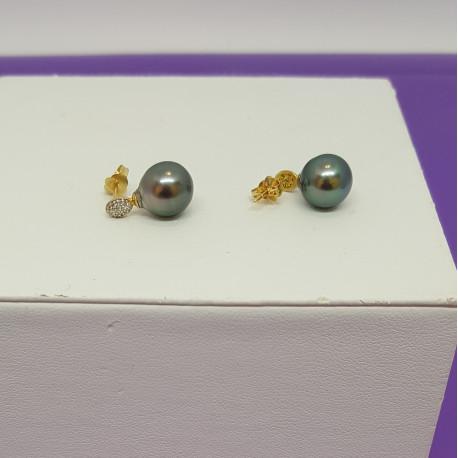 Boucles Perles de Tahiti