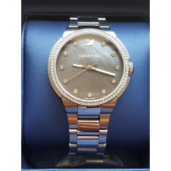 Montre Swarovski City Grey fond nacré
