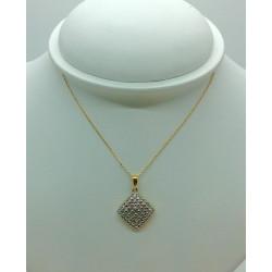 Chaine Or et Pendentif Diamants