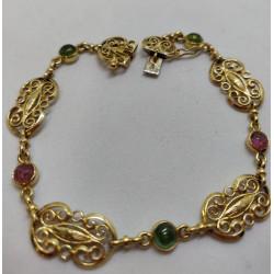 Bracelet Filigrane + Pierres