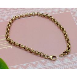 Bracelet Or Maille Jaseron