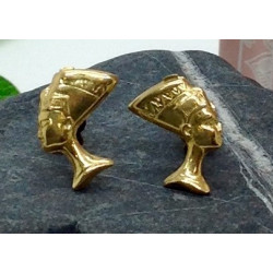 Boucle d'Oreilles Profil Egyptien