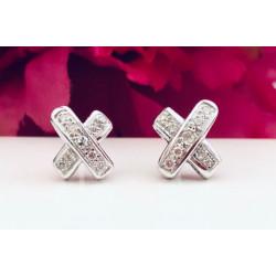 Boucle d'oreillesavec Diamants