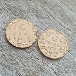 Pièces Or 20 Francs