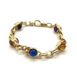 Bracelet Or avec Cristaux