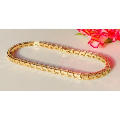 Bracelet avec Rivière de Diamants