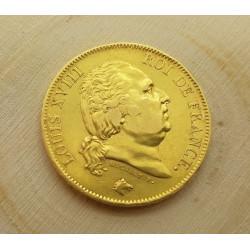 Pièce 40 Francs 1818