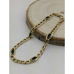 Bracelet or et Saphirs