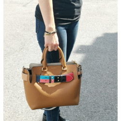 Sac Burberry Marais Small Cognac