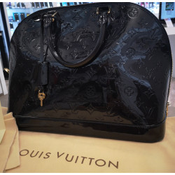 Sac Louis Vuitton ALMA MM MV BLEU INFINI