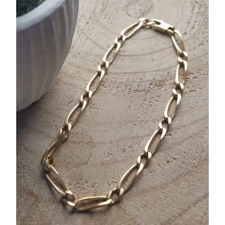 Bracelet Maille Figaro