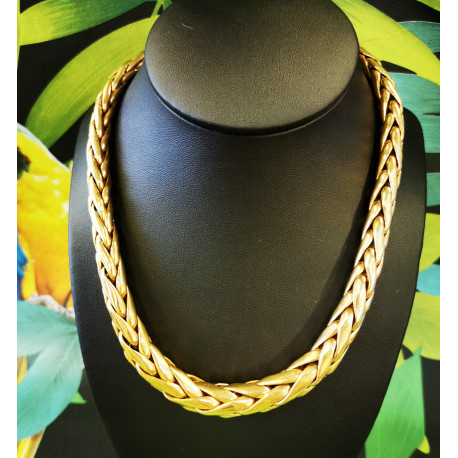 Collier Maille Palmier