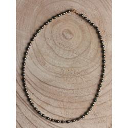 Collier Or et Perle de Tahiti