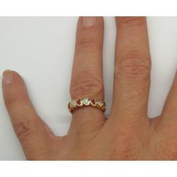 Alliance Coeur Rubis Diamants