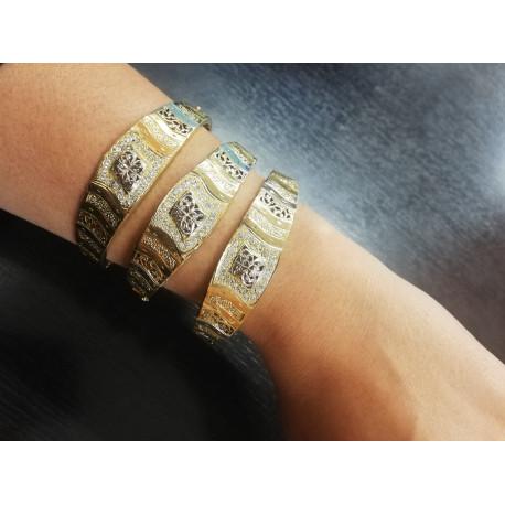 Bracelet Jonc Marocain avec Oxyde
