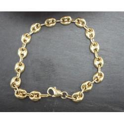 Bracelet Maille Grain de Café