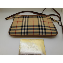 Sacoche Burberry ladies small leather