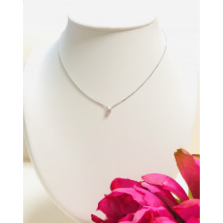 Collier Diamant 0.10cts
