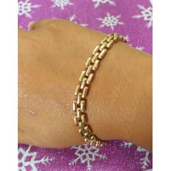 Bracelet Maille Grains de Riz