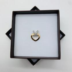 Pendentif 2 Ors Chaumet avec Diamant