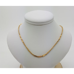 Collier Maille alternée
